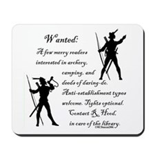 Wanted: A few merry readers.. Mousepad