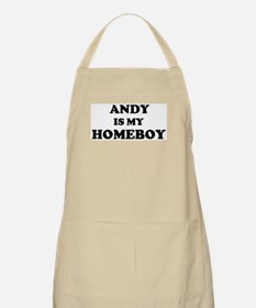 Andy Is My Homeboy BBQ Apron