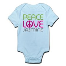 Peace Love Jasmine Infant Bodysuit
