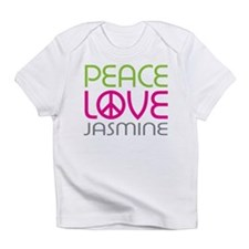 Peace Love Jasmine Infant T-Shirt