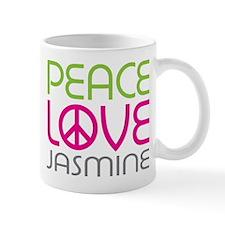 Peace Love Jasmine Mug