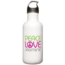Peace Love Jasmine Water Bottle