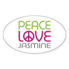 Peace Love Jasmine Decal