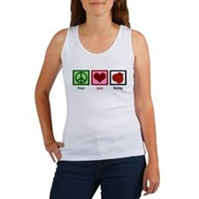 Peace Love Boxing Women's Tank Top