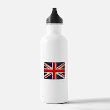 Grunge UK Flag Water Bottle