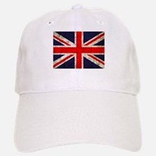 Grunge UK Flag Baseball Baseball Cap