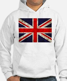 Grunge UK Flag Jumper Hoody