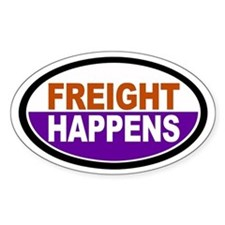 Freight Happens - Purple Euro Decal