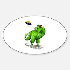 Extinction Level Event Sticker (Oval)