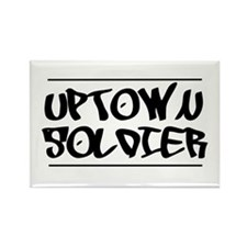 Cute Uptown Rectangle Magnet