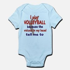 VOICES IN MY HEAD Infant Bodysuit