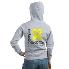 Ribbon Awareness Zip Hoodie