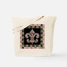 Tribal Voodoo Fleur de lis Tote Bag
