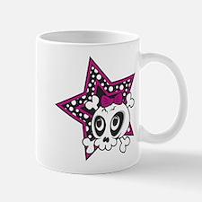 Girly Emo Skull Mug