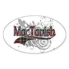 MacTavish Tartan Grunge Decal
