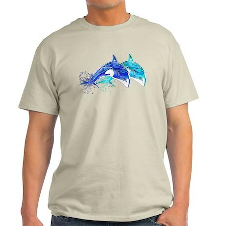 Whale Twins Light T-Shirt