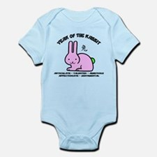 Cute Year of The Rabbit Infant Bodysuit