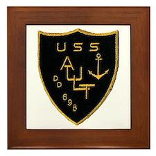USS AULT Framed Tile