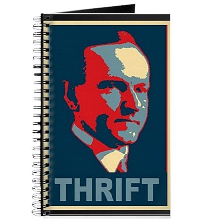 "Calvin Coolidge ""Thrift"" Journal"