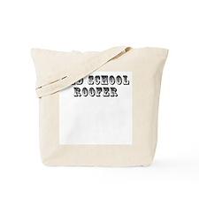 Old School Roofer Tote Bag