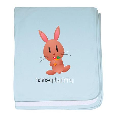 Honey Bunny baby blanket