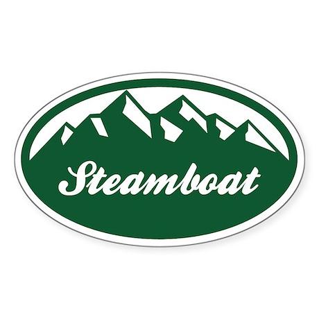 Steamboat Springs Sticker (Oval)