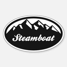 Steamboat Springs Sticker (Oval)