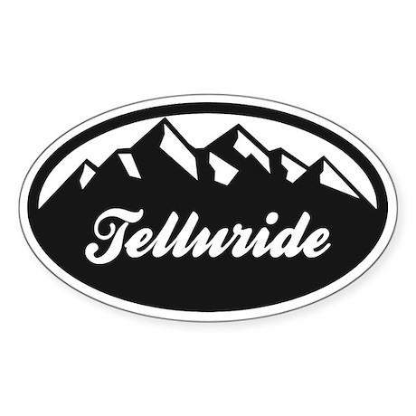 Telluride Colorado Sticker (Oval)