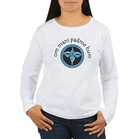 om mani padme hum Women's Long Sleeve T-Shirt