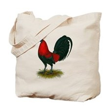 Big Red Rooster Tote Bag