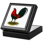 Big Red Rooster Keepsake Box
