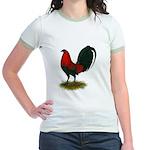 Big Red Rooster Jr. Ringer T-Shirt