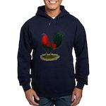 Big Red Rooster Hoodie (dark)