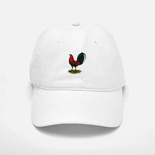 Big Red Rooster Baseball Baseball Cap