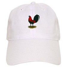 Big Red Rooster Baseball Cap