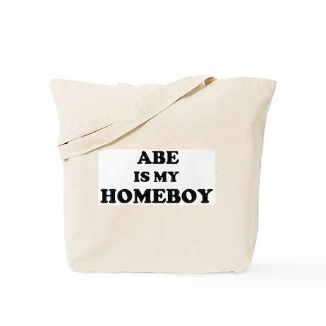 Abe Is My Homeboy Tote Bag