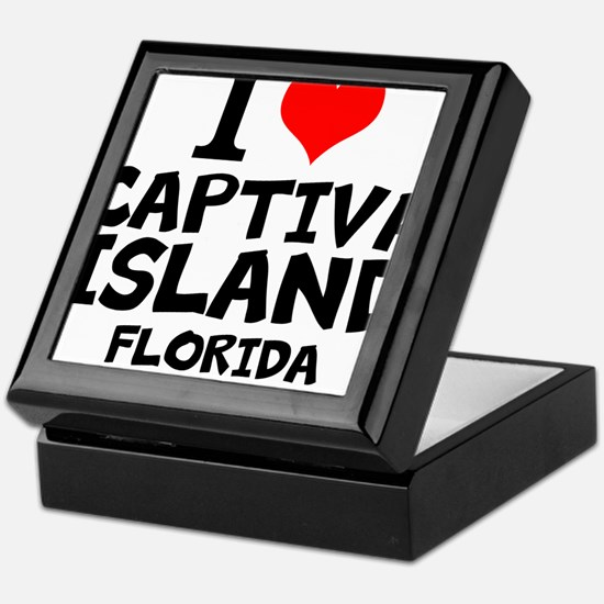I Love Captiva Island Keepsake Box