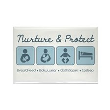 Nurture & Protect Rectangle Magnet (100 pack)