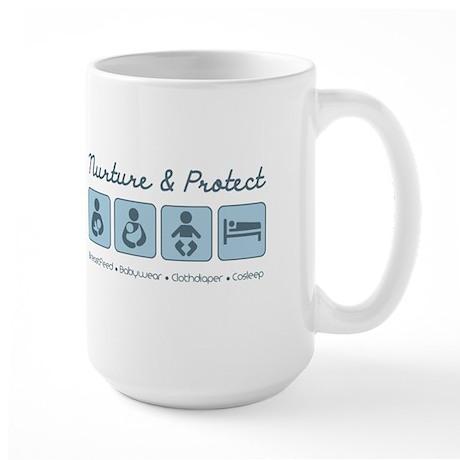 Nurture & Protect Large Mug