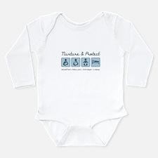 Nurture & Protect Long Sleeve Infant Bodysuit
