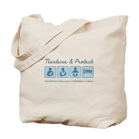 Attachment Parenting Tote Bag