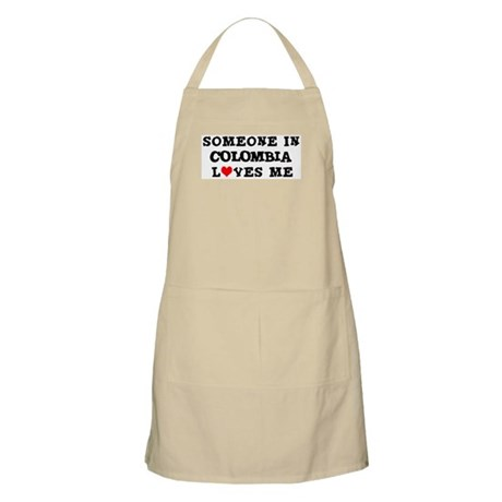 Someone in Colombia BBQ Apron
