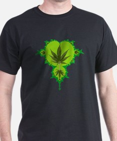 Weed Fractal T-Shirt