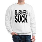 Teabaggers Suck Sweatshirt