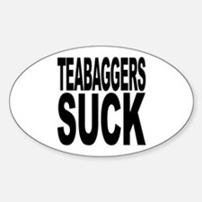 Teabaggers Suck Decal