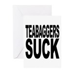 Teabaggers Suck Greeting Cards (Pk of 10)