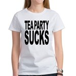 Tea Party Sucks Women's T-Shirt