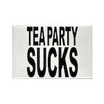 Tea Party Sucks Rectangle Magnet
