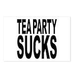 Tea Party Sucks Postcards (Package of 8)