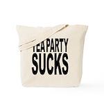 Tea Party Sucks Tote Bag
